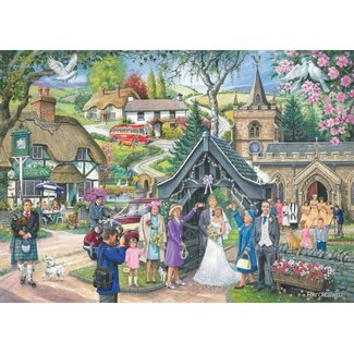 The House of Puzzles No.4 - Wedding Day 1000 Puzzle Pieces