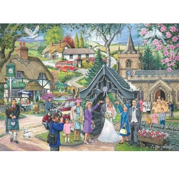 The House of Puzzles No.4 - Wedding Day Puzzel 1000 Stukjes
