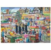 The House of Puzzles No.5 - Festive Market Puzzel 1000 Stukjes