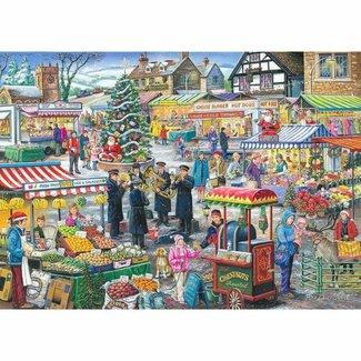 The House of Puzzles No.5 - Festive Market Puzzel 1000 Stukjes