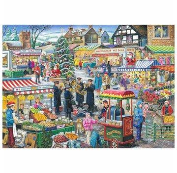 The House of Puzzles No.5 - Festive Market Puzzle 1000 Pieces