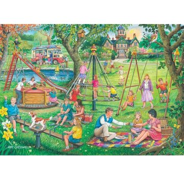 The House of Puzzles No.8 - Park and Rides Puzzel 1000 Stukjes