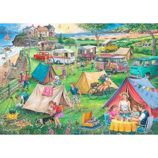 The House of Puzzles No.10 - Camping Puzzel 1000 Stukjes