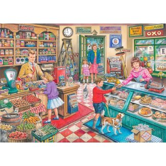 The House of Puzzles No.11 - 1000 General Store Puzzle Pieces