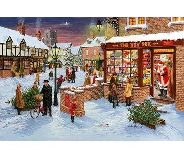 The House of Puzzles No.3 - Secret Santa Puzzel 1000 Stukjes