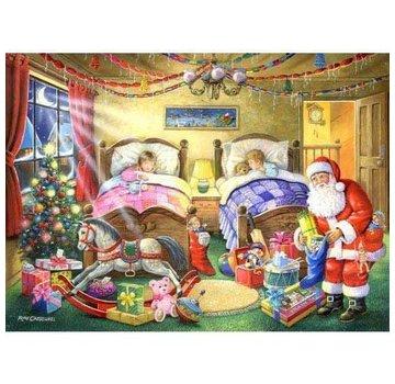 The House of Puzzles No.4 - Christmas Dreams Puzzel 1000 Stukjes