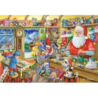 The House of Puzzles No.5 - Santa's Workshop Puzzel 1000 Stukjes