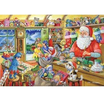 The House of Puzzles No.5 - Atelier du Père Noël Puzzle 1000 Pièces de
