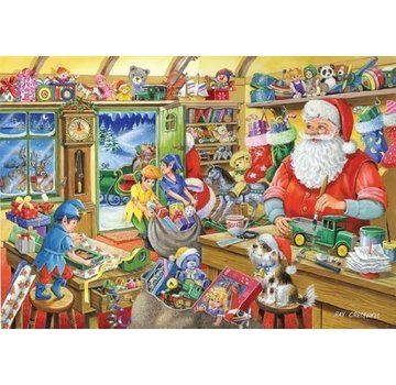 The House of Puzzles No.5 - Santa's Workshop Puzzle 1000 Pieces