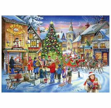 The House of Puzzles No.6 - Christmas Shopping Puzzel 1000 Stukjes