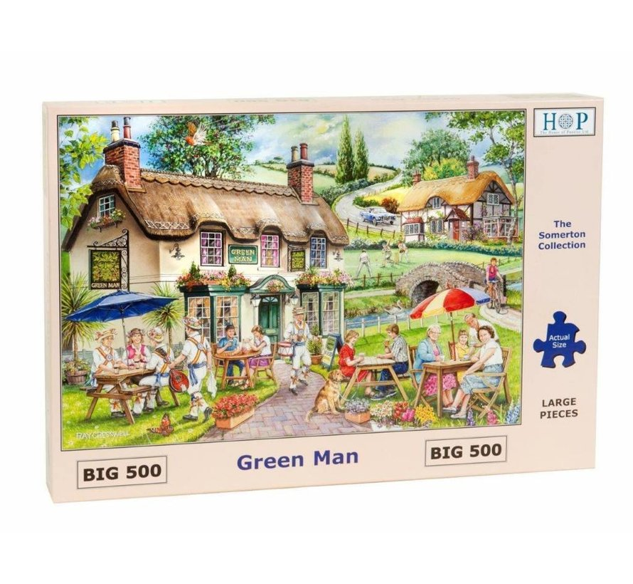 Green Man Puzzel 500 Stukjes XL