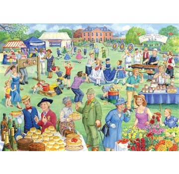 The House of Puzzles Summer Fete Puzzle Pieces XL 500
