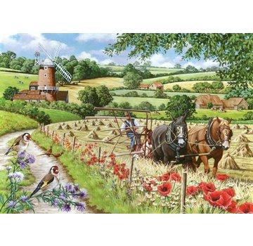 The House of Puzzles Windmill Lane Puzzel 500 Stukjes XL