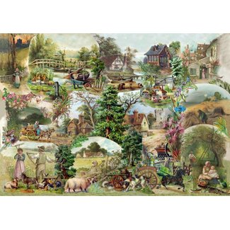 The House of Puzzles Pastoral Puzzle Stück XL 500