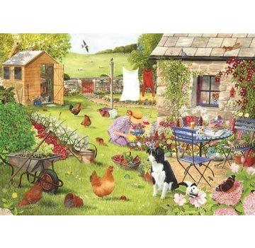 The House of Puzzles Jardin Puzzle Pieces XL grand-mère 500