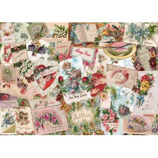 The House of Puzzles Say It With Flowers Puzzel 500 Stukjes XL