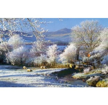 The House of Puzzles Touch Of Frost Puzzel 500 Stukjes XL