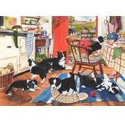 The House of Puzzles Mum's Helpers Puzzel 500 Stukjes XL