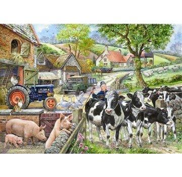 The House of Puzzles Oak Tree Farm Puzzle Pieces XL 500
