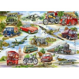 The House of Puzzles Truly Classic Puzzel 500 Stukjes XL
