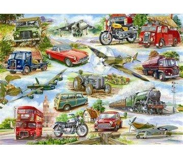 The House of Puzzles Vraiment classique Puzzle Pieces XL 500