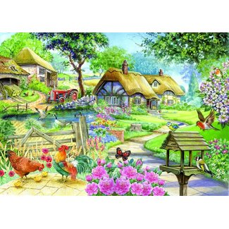 The House of Puzzles Country Living 500 Puzzle Pieces XL