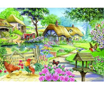 The House of Puzzles Country Living Puzzel 500 Stukjes XL