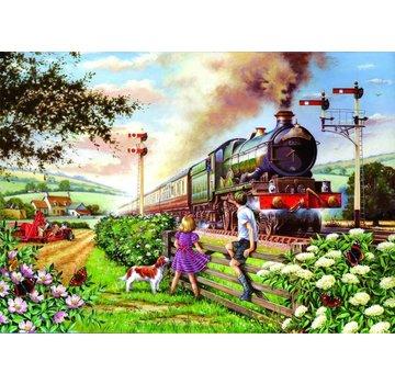 The House of Puzzles Railway Children Puzzel 500 Stukjes XL