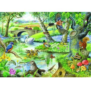 The House of Puzzles Tales Of The Puzzle XL 500 Pièces rivière