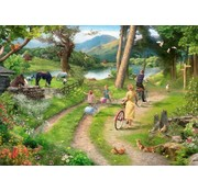 The House of Puzzles Family Day Out Puzzel 250 Stukjes XL