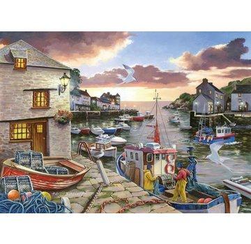 The House of Puzzles Harbour Lights Puzzel 250 Stukjes XL