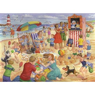 The House of Puzzles Trip to the Seaside Puzzel 250 Stukjes XL