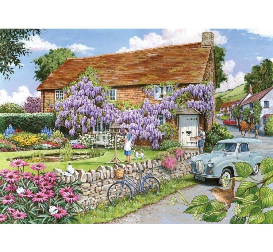 Wisteria Cottage Puzzel 250 Stukjes XL