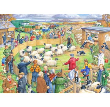 The House of Puzzles Sheep Sale Puzzel 250 Stukjes XL