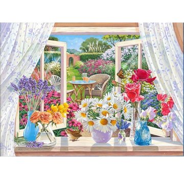 The House of Puzzles Summer Breeze 250 Puzzle Pieces XL