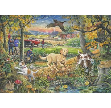 The House of Puzzles Evening Walk Puzzel 250 Stukjes XL