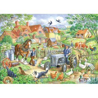 The House of Puzzles Keeping Busy Puzzel 250 Stukjes XL