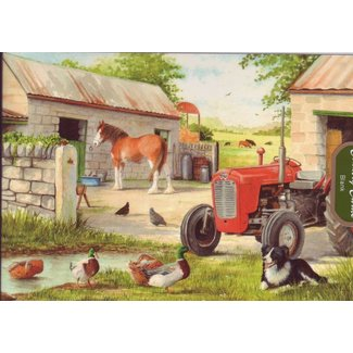 The House of Puzzles Dog and Duck Puzzel 250 Stukjes XL