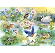The House of Puzzles Feathered Friends Puzzle Pieces XL 250