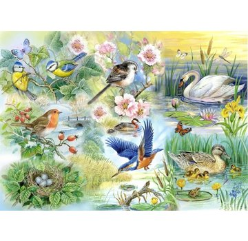 The House of Puzzles Amis Puzzle Pieces Feathered XL 250