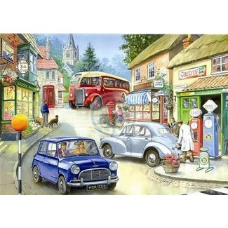 The House of Puzzles Country Town Puzzel 250 Stukjes XL