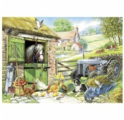 The House of Puzzles Down On The Farm Puzzel 250 Stukjes XL