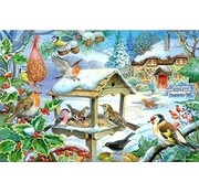 The House of Puzzles Feed The Birds Puzzle Pieces XL 250