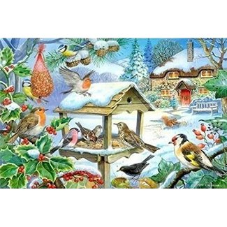 The House of Puzzles Feed The Birds Puzzle-Stück XL 250