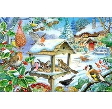 The House of Puzzles Feed The Birds Puzzel 250 Stukjes XL