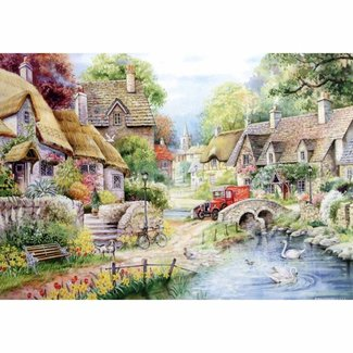 The House of Puzzles River Cottage Puzzle Stück XL 250