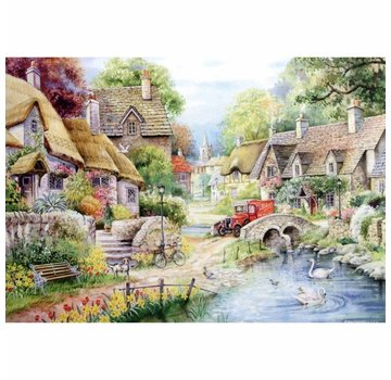The House of Puzzles River Cottage Puzzle Pieces XL 250