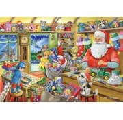 The House of Puzzles No.5 - Atelier du Père Noël Puzzle 500 Pièces