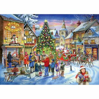 The House of Puzzles No.6 - Christmas Shopping 500 Puzzle Pieces