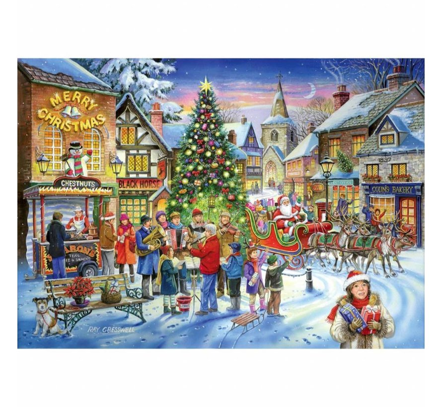 No.6 - Christmas Shopping Puzzel 500 Stukjes
